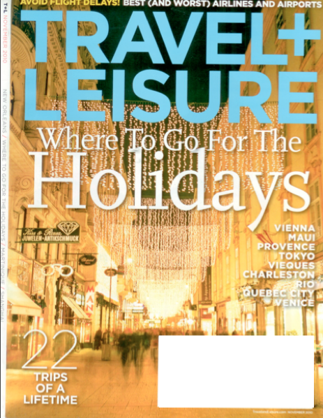 "KT Featured in Travel+Leisure's ""22 Life Changing Trips""!"
