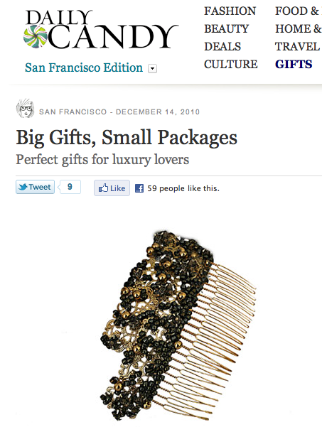 Young&ng Featured in Daily Candy's Holiday Gift Guide