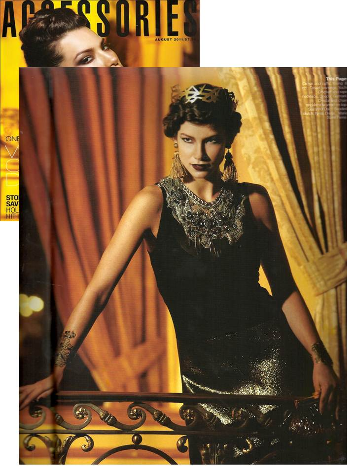 Young&ng featured in Accessories magazine