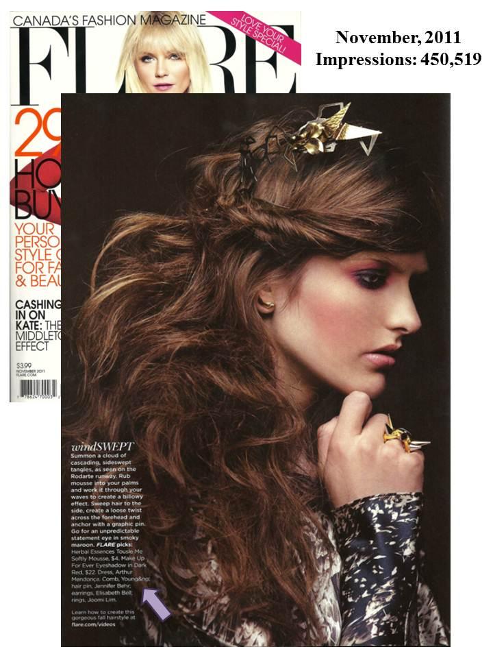 Young&Ng Flare Magazine November 2011