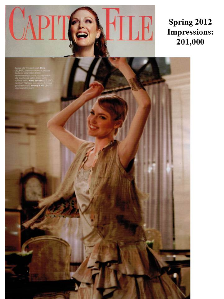 Young&ng featured in Capitol File's Flapper Themed February editorial