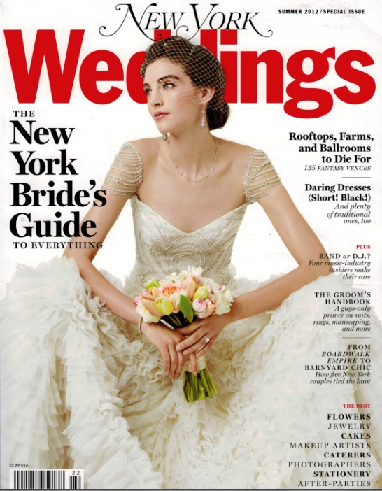 Dyanna Spa - New York Wedding Mag Feature Cover