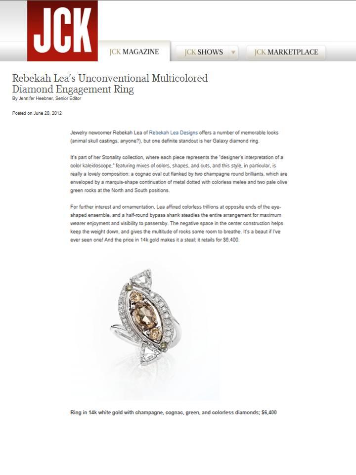 Rebekah Lea JCK Online