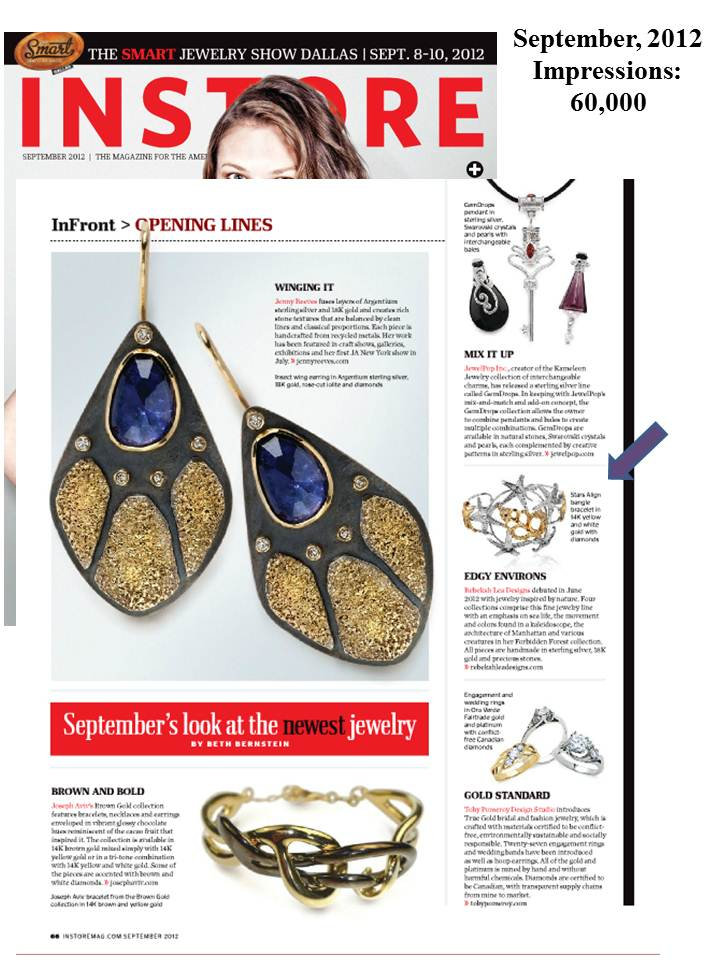 Rebekah Lea Featured in the September Issue of InStore Magazine
