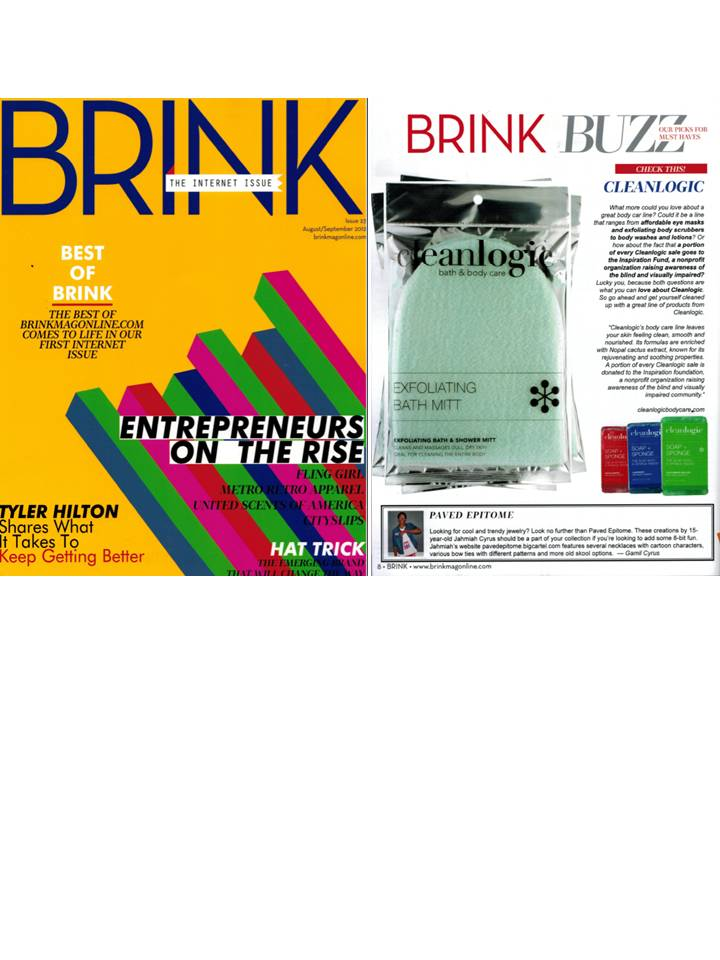 Cleanlogic featured in Brink Magazine's September Issue!