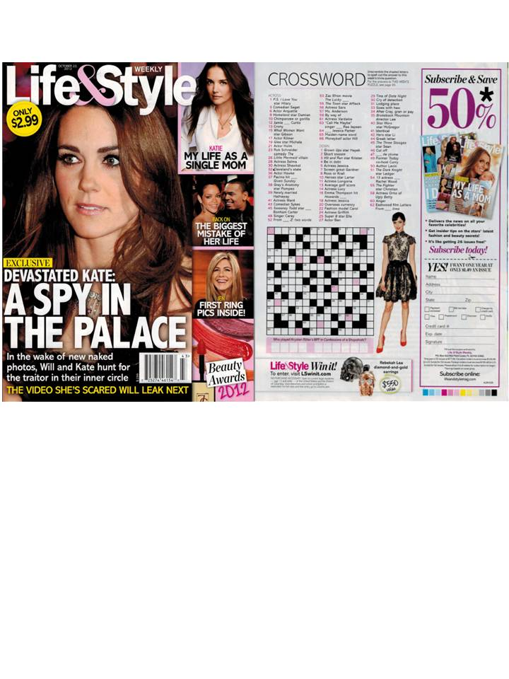 Rebekah Lea featured in Life & Style Weekly!