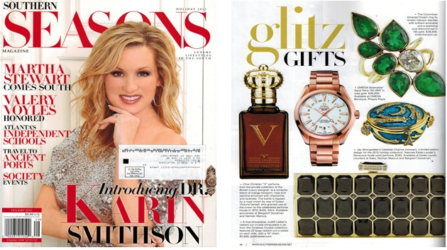 Kristin Hanson Featured in Southern Seasons Magazine