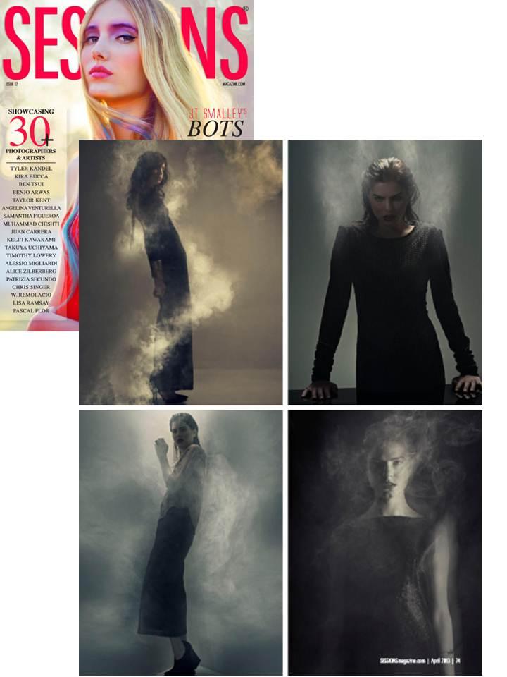 Rebekah Lea & Rae Francis in Sessions Magazine