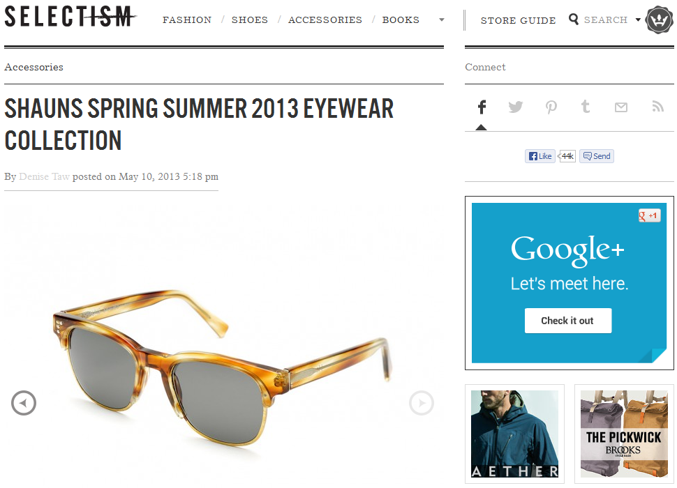 SHAUNS SS 2013 Collection on Selectism.com