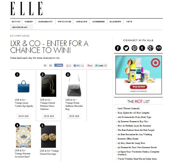 LXR & Co on Elle.com