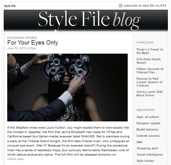 SHAUNS on Style.com