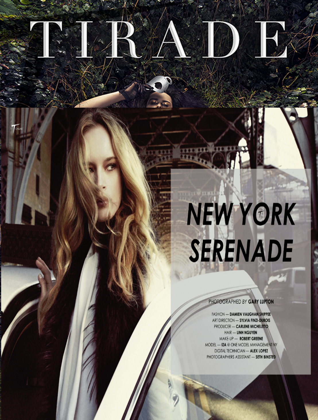Tirade Magzine Captures New York via Phoenix Keating and LXR & Co