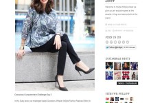InStyle Fashion Features Editor wears SHAUNS in the Concious Consumerism Challenge