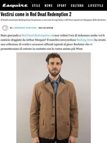 BI - Esquire Italia - 12.02.18