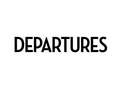 Krause Sawyer Featured in Departures Magazine