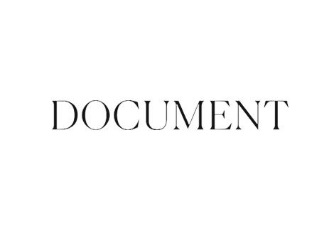 Palmiers du Mal Featured on Document Journal