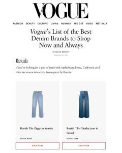 Boyish - Vogue - 9.20.21